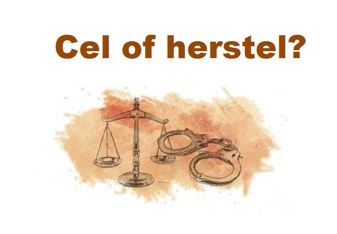 Symposium 'Cel of Herstel'.