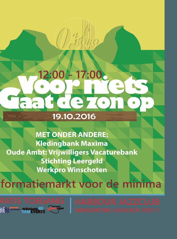 Accent mediation is ook aanwezig bij de informatiemarkt voor de minima op 19 oktober 2016. - Accent Mediation in Groningen